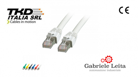 RJ45 Patch cable S/FTP - Cat.8.1 - BC - grey